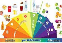 Alimentación ácida/alcalina