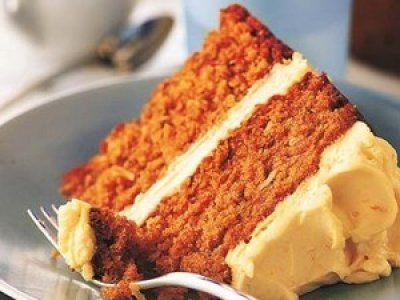 Bizcocho de zanahoria sin gluten ni azúcar